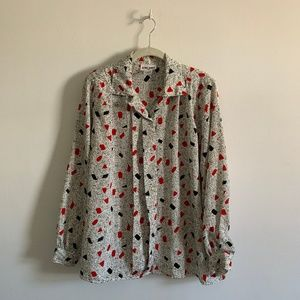 Alfred Dunner pattern blouse